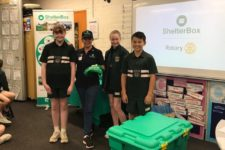 over $9000 for Shelterbox!